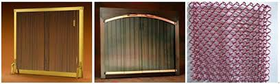 Fire Pit Black Spark Screens Fireplace Metal Mesh Curtain  Buy Fireplace Curtain