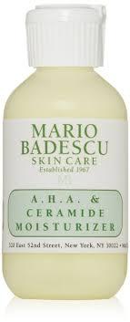 mario badescu aha and ceramide moisturizer