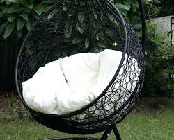 hanging chairs outdoor canada furniture egg chair
