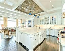 coastal kitchen ideas. Sightly Coastal Kitchen Decor Chic And Creative Design White With Ideas