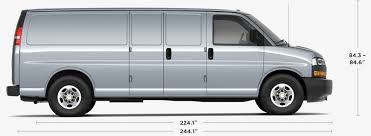 Cargo Van Comparison Chart 2019 Chevy Express Cargo Work Van Gm Fleet