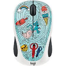 Купить <b>мышь Logitech M238</b> Doodle Collection Bae-Bee Blue в ...
