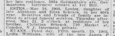 Louisa Estes Obit - Newspapers.com