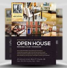 realtor open house flyers real estate flyer templates for photoshop flyerheroes