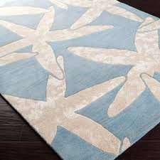 architecture and home luxurious starfish area rug on impressive healingtheburn pertaining to beach starfish area