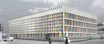 office building facade. Homepage Office Building Facade