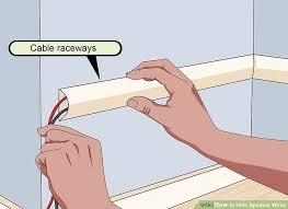 image titled hide speaker wires step 1