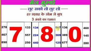 Mumbai Game Chart Dpbosss In Mumbai Chart