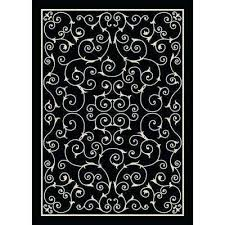 black white outdoor rug x black outdoor rugs rugs the home depot black and white striped