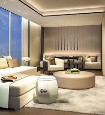 Lounge Bedroom Scda Hotel Mixed Use Development Nanjing China Executive