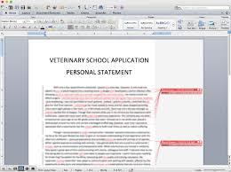 Personal Statement For Resume Veterinary Personal Statement Barca Fontanacountryinn Com