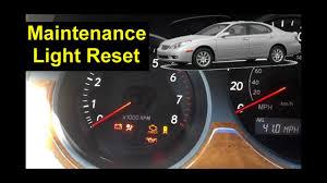 03 4runner Maintenance Light Reset Lexus Maintenance Light Reset Proceedures Auto Repair Series