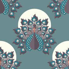 Peacock Pattern Impressive Peacock Pattern Design Vector Premium Download