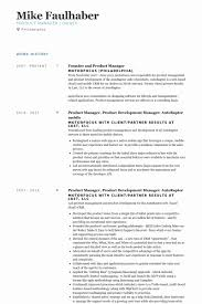 Web Product Manager Sample Resume
