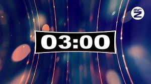 3 Minutes Countdown Omglosteve The Horizon Free Music No