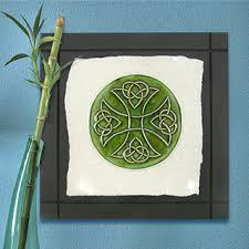 celtic cross ceramic wall art tile on wall art tiles canada with celtic cross ceramic wall art tile celtic cross knot