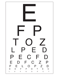 Snellen Chart Uk Printable Early Learning Resources Eye Chart Opticians Role Play