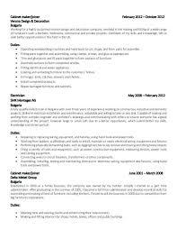 cabinet maker cover letter 9 10 pattern maker resume sample soft 555 com