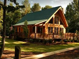 consider the plan and building site for log home