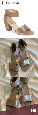 Paul Green Shoe Size Chart Paul Green Wells Ankle Strap Heels Size 9 Euc Very Little
