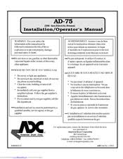 adc adg 75d installation and operation manual pdf download Amana Dryer Wiring Diagram at Adc 310 Dryer Wiring Diagram