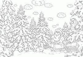 Christmas Coloring Pages Pdf Free At Seimado