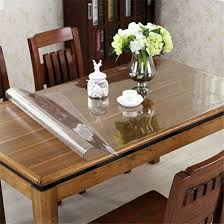 round table protector pads vinyl fitted tablecloths rectangle dining room table protector