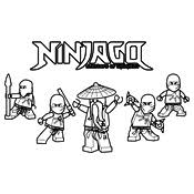 Kleurplaten Lego Ninja Turtles