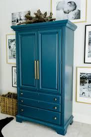 Blue Painted Bedroom Furniture
