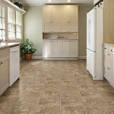 Kitchen Flooring Home Depot Trafficmaster Allure 12 In X 36 In Red Rock Luxury Vinyl Tile