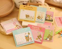 Cute Memo Boards Delectable Cartoon Sticky Notes Memo Pad Cute Memo Boards Post It Sticker