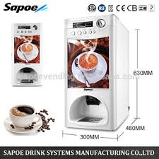 Tea Time Coffee Vending Machine Price New Sapoe High Quality 48 Different Kinds Automatic Coin Operated Tea