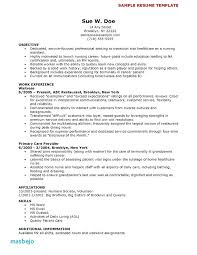 Cna Resume Templates New Examples Cna Resume No Experience Resumes Picture Gallery For