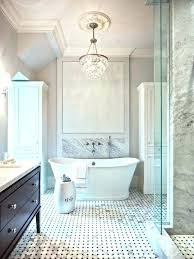 light over bathtub fancy bath lighting inspiration and tips for hanging a chandelier over the bathtub