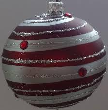 Weihnachtskugeln Christbaumschmuck Silber Online Kaufen