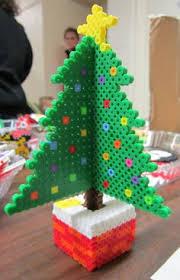 431 Best Perler Beads 3D Images On Pinterest  Pearler Beads Fuse Perler Beads Christmas Tree