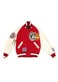 <b>Clothing</b> :: Jackets :: Bombers :: <b>Red</b> and Milk Patched Cotton and ...