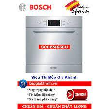 Máy rửa bát 8 bộ Bosch SCE52M65EU lắp âm tủ nhập khẩu Tây Ban Nha