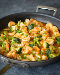 Sweet and Sour Shrimp With Broccoli - Once Upon a Chef