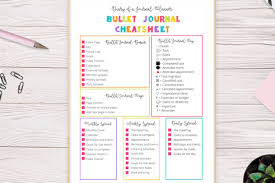 Daily Journal Planner 15 Totally Free Bullet Journal Printable To Organize Your