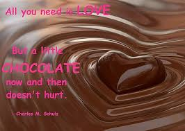 Chocolate Love Quotes Custom All You Need Is Love And Chocolate Quote Picture