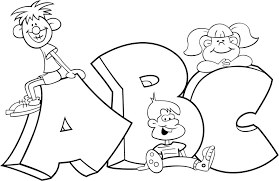 Abc Color Pages Free Printable Abc Coloring Pages For Kids