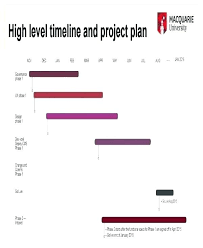 High Level Project Timeline Template Davidhdz Co
