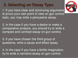 gun control essays sample english essay summary on gun control essays about the internet function jigsaw