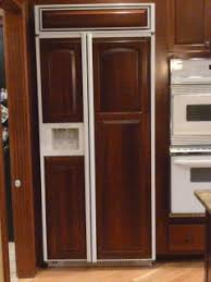 Simple Kitchenaid Superba 42 Refrigerator Inch Built In Dispencer Inside Design Inspiration