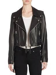 the kooples leather cropped jacket black women s jackets vests faux the kooples moto jacket the kooples stud embellished