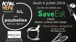 Atelier Cuisine Anti Gaspi Au Mercure à Saint Germain En Laye 78100