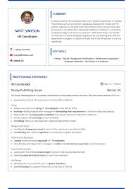 Modern Resume Templates By Hiration