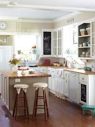 Remodeling Kitchens On A Budget Classic White Kitchen Cabinet With Wooden Countertop For Small