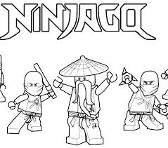 Lego Ninjago Coloring Page Printable Coloring Pages Free Printable